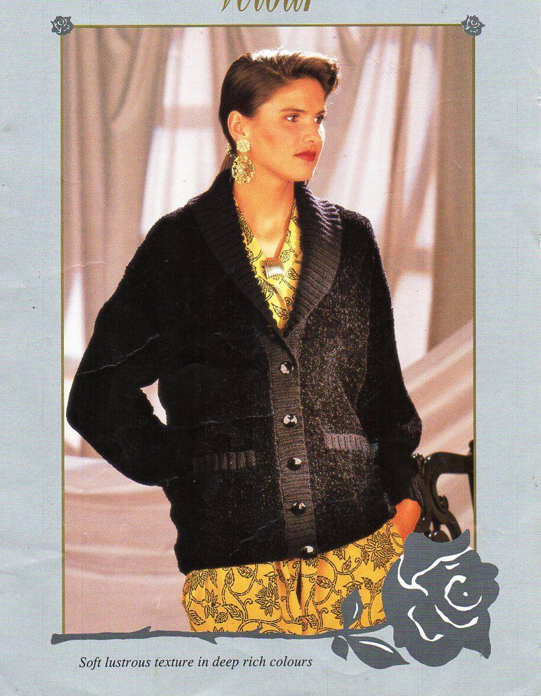 Ladies velour jacket knitting pattern pdf download womens chenille ladies velour jacket knitting pattern pdf download womens chenille cardigan shawl collar pockets 32 42 bankloansurffo Choice Image