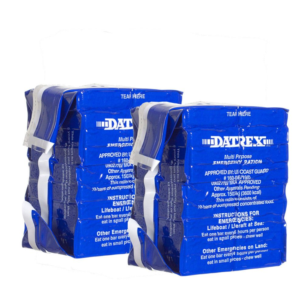 Datrex 3600 kcal Emergency Food Bar 2 Pack Acme