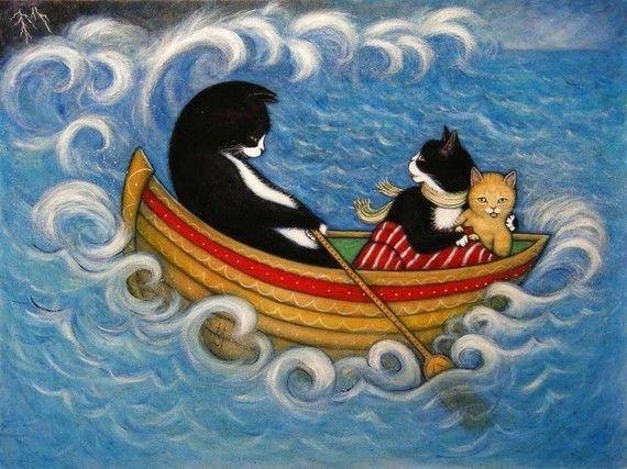 El rescate. gato de esmoquin de 8 x 10 Charlie impresión