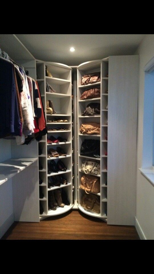 Shoe Carousel I Need This Shoe Rack Closet Modern Closet