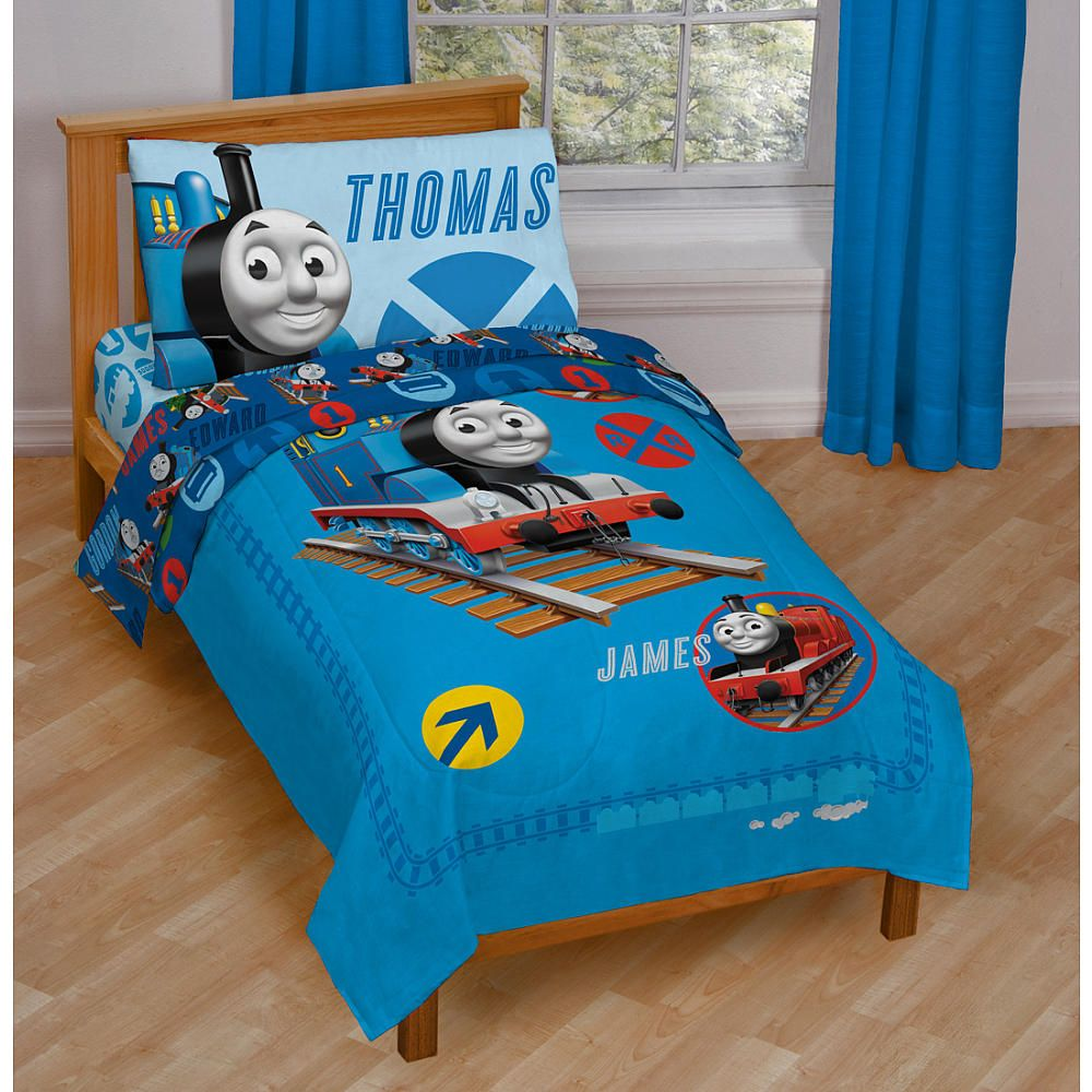 Thomas The Train Pillowcase All Aboard We're Off To Dreamland First Stop Shining Time Station