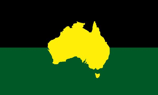 australian flag design by graham hughes - Flag Design Ideas