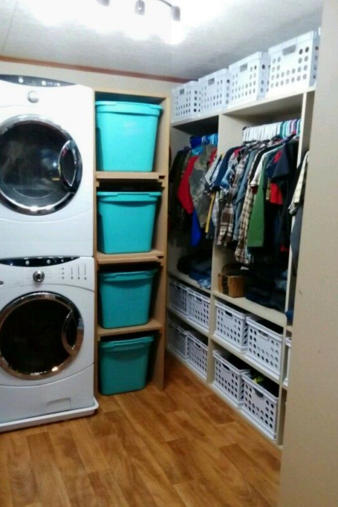 How To Organize A Large Family In A Small House Family Closet Family Room Storage Large Family Organization