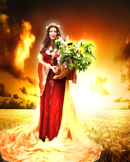 Deity of the Day Ceres Goddess of the Grain Fields During the