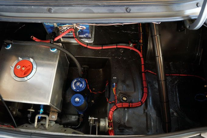 Drag Race Car Wiring Systems