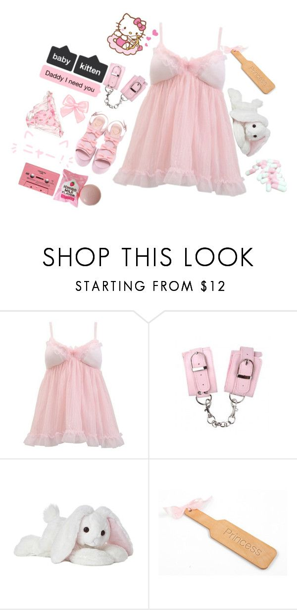S W E E T B A B Y By Strawberries N Cream Kitten Liked On Polyvore Featuring Cotton Candy Super Kawaii Fashion Kittens