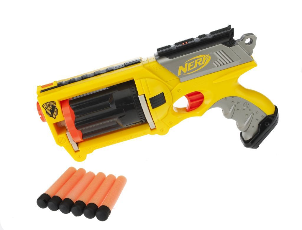 For my next modelling challenge I chose this Nerf gun which has a number of  topology challenges. Initially I tried using some snaps from my iPhone.