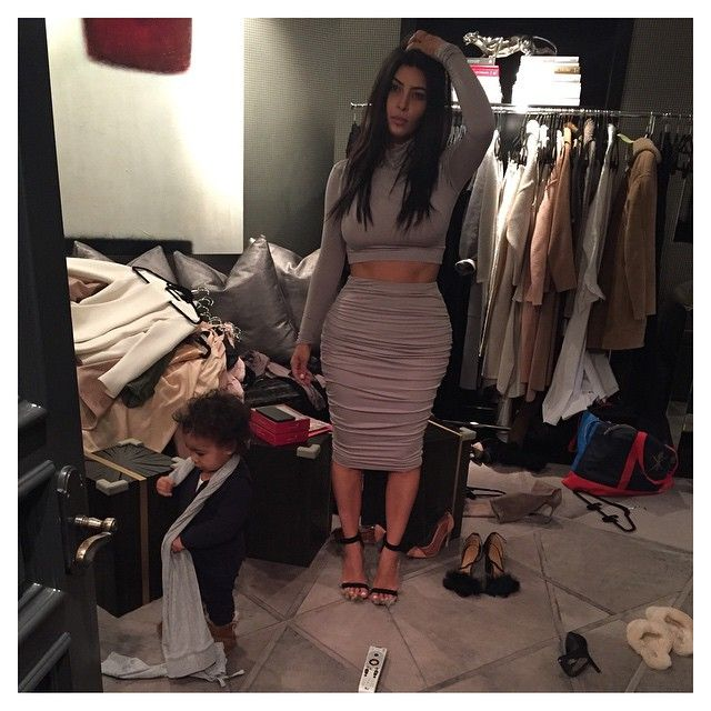 yesterday…trying to pick out an outfit struggle by kimkardashian http://ift.tt/1wP2dzy
