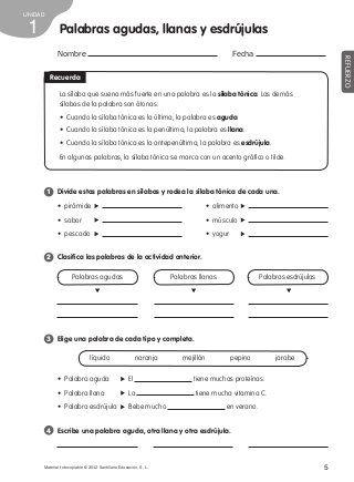 Refuerzo lengua 4º de primaria | cuarto grado | Pinterest | Language ...