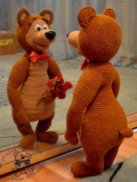 Pin Von Nilda Perez Auf Amigorumi Pinterest Bären Häkeln Und