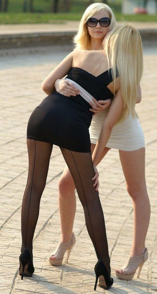 and skirt Pantyhose very short