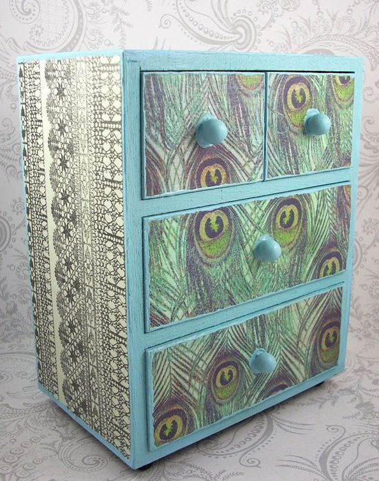 Peacock blue furniture diy furniture ideas and projects for Diy art deco furniture