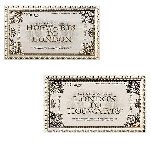 Hogwarts Express Ticket Set Harry Potter Theme Party Hogwarts Express Ticket Hogwarts