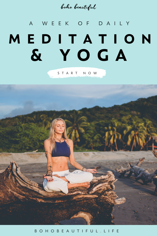 Boho Beautiful Retreat is a virtual yoga and meditation retreat to do in the comfort of your own hom...