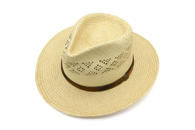 Mens Straw Panama Hat Vintage Stetson Hat Summer Beach Hat Woven Sun Hat Natural Organic Hat Mens Safari Hat Boater Hat Size 7 Medium Mens Safari Hats Summer Hats Beach Hats