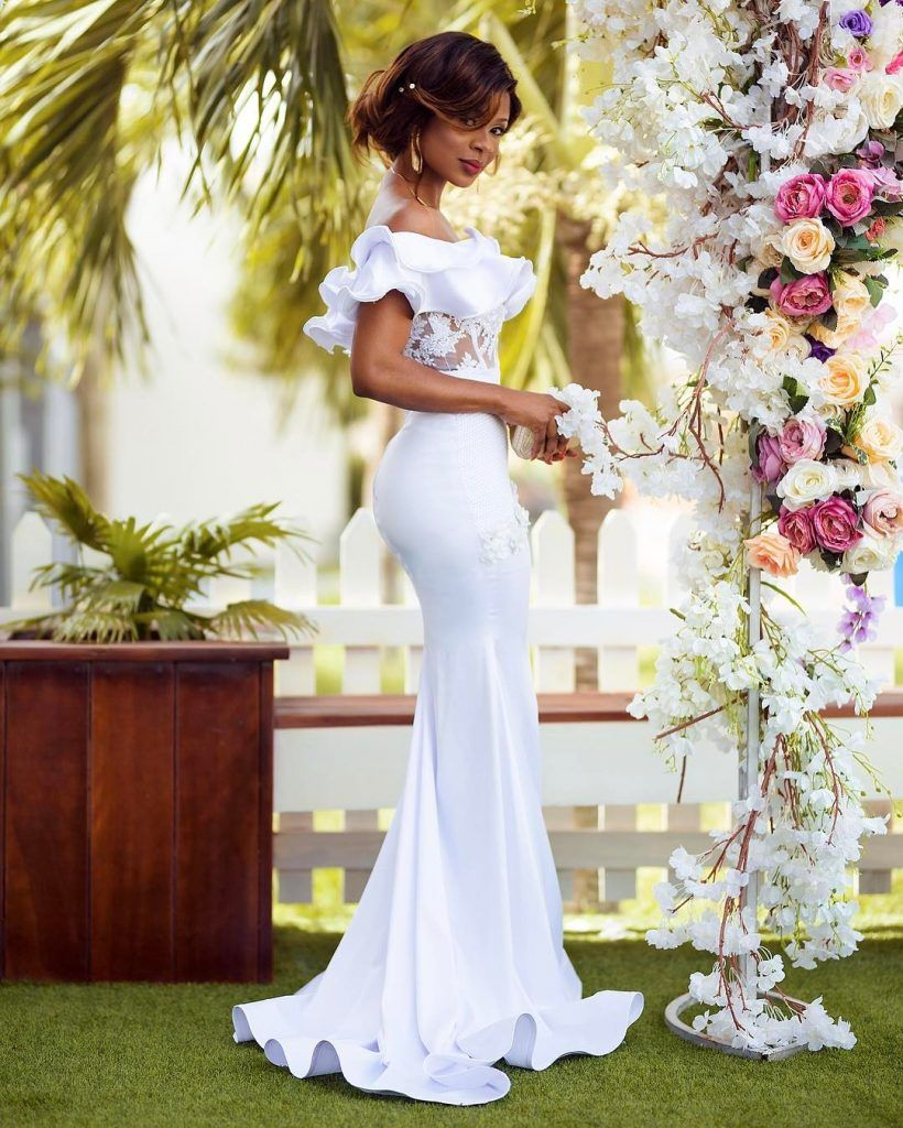 bridal shower outfit ideas in white madivas