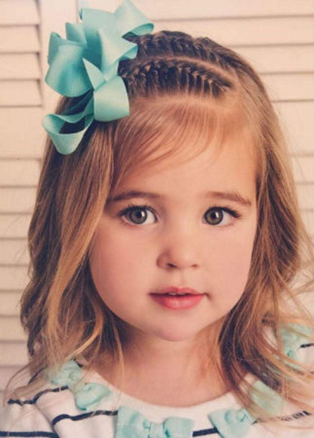 Coiffure petite fille Coupes de cheveux pour petite