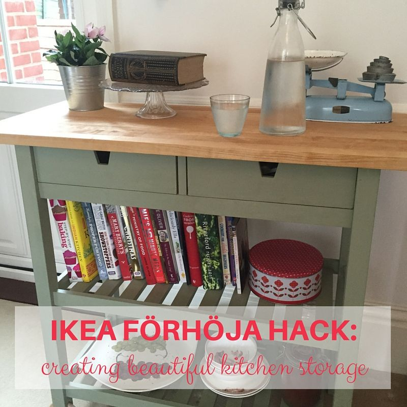 Hacking The Ikea Forhoja Kitchen Storage Trolley Ikea Kitchen