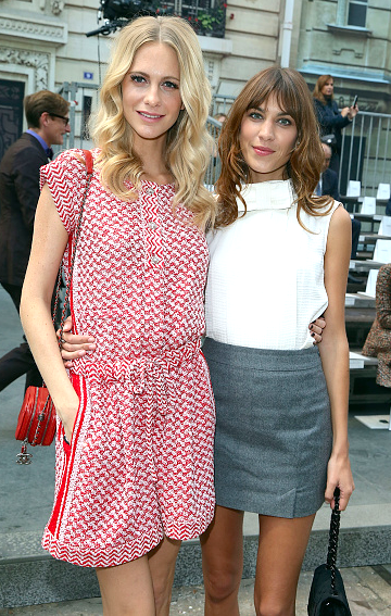 Poppy Delevingne & Alexa Chung, Paris