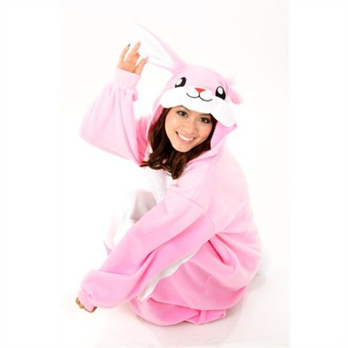 Kigurumi Adult Animal Onesies - Rabbit - Shipping Cap Promotion- - TopBuy.com.au