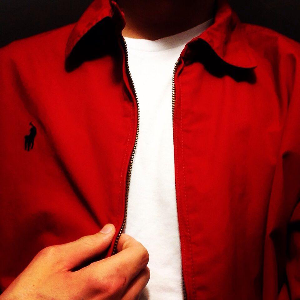 Ralph Lauren Harrington Jacket Red
