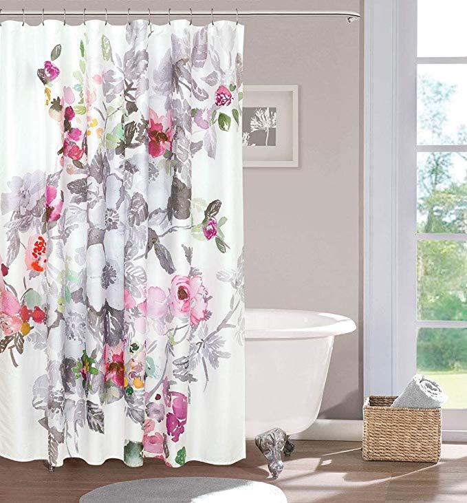 Amazon Com Sloane Street Brighton Shower Curtains 72x72 Multi