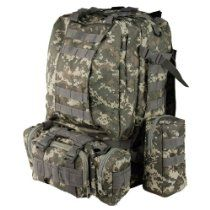 2563fbb90c INFANTRY Military Patrol MOLLE U.S Army Assault Day Packs Tactical Rucksack  Backpack Bag 50L Multicam Camo