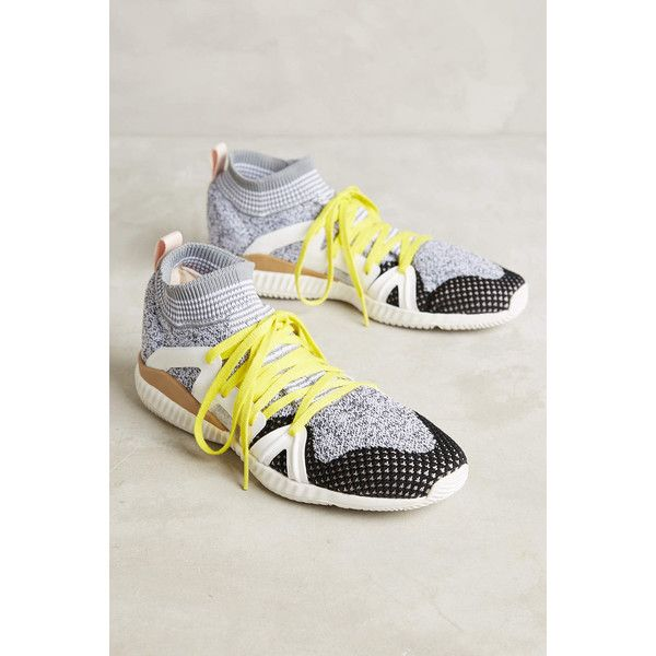 Adidas Edge Sneakers ($190) ❤ liked on Polyvore featuring shoes, sneakers, white, adidas sneakers, white trainers, rubber sole shoes, adidas footwear and adidas