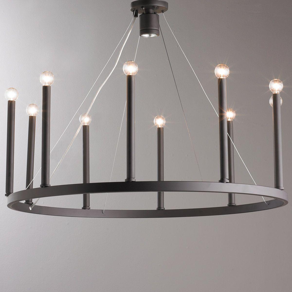 Euromodern candelabra chandelier light candelabra