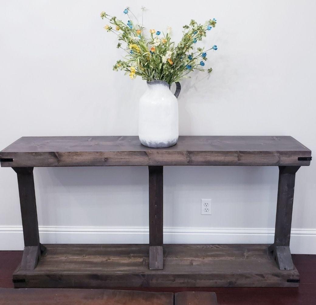 Narrow Console Table (Modern Farmhouse) Ana White