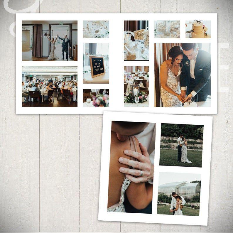 Wedding Album Template: Infinite - 10x10 Wedding or ...