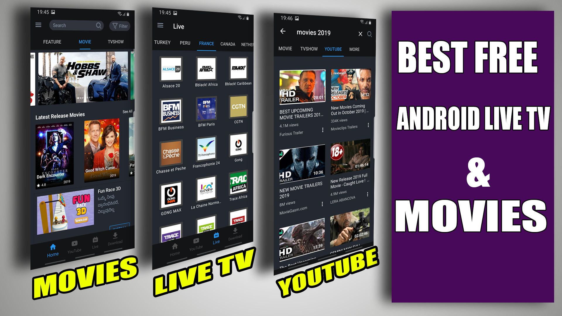 VidMix APK Best Free Android Live tv & Movies & TVshows