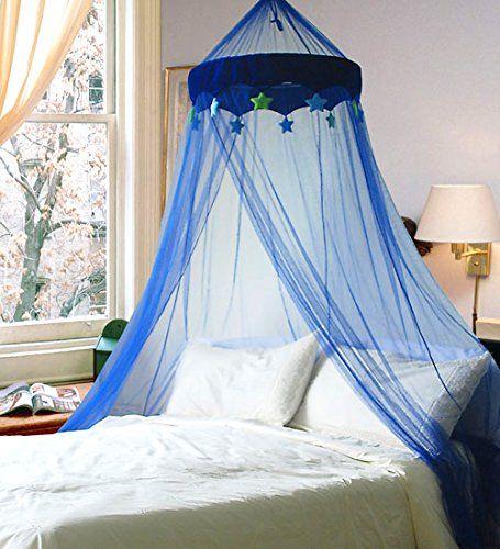 Blau in the night star moskitonetz baldachin kinderzimmer kinderzimmer moskitonetz und - Moskitonetz kinderzimmer ...