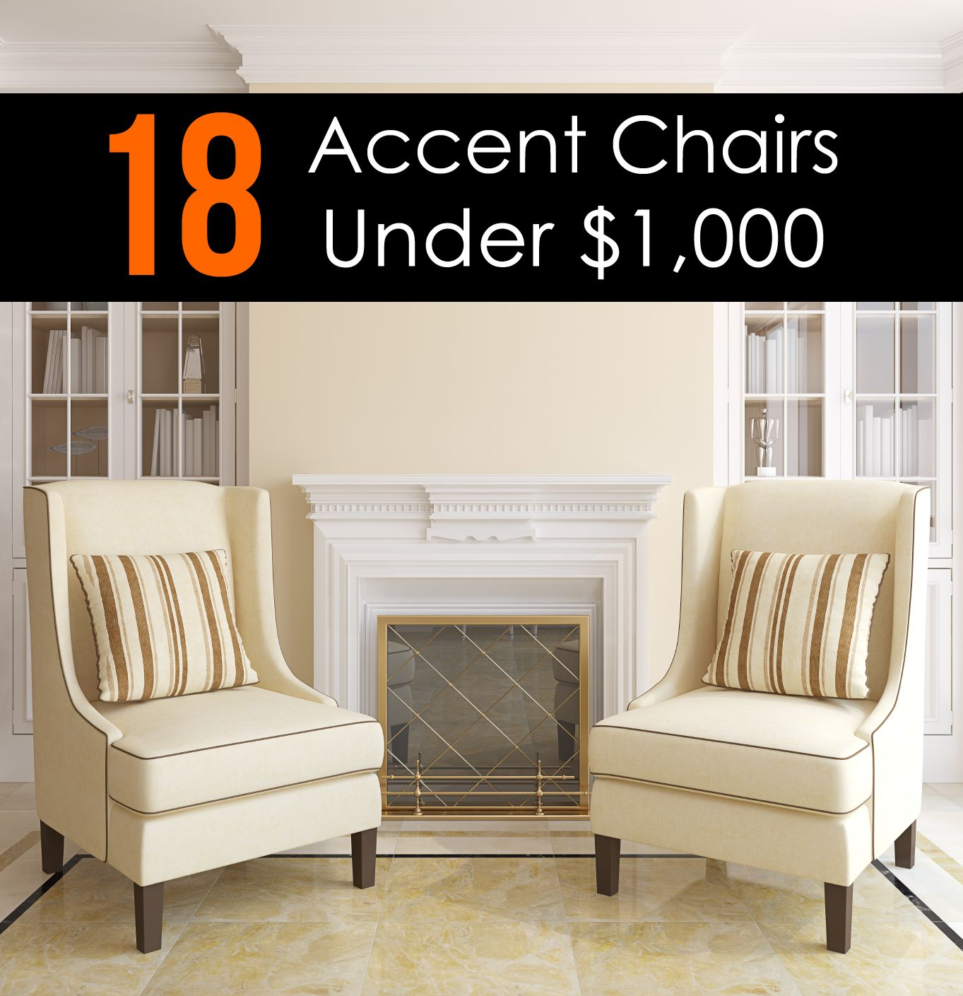 10 Attractive Accent Chairs Under 100 2020 Accent Chairs For