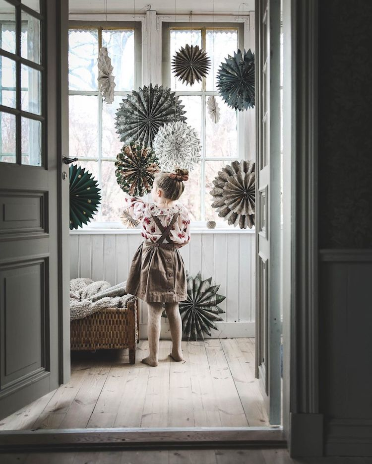Photo of Cosy Christmas Touches in The Swedish Home of Anna Kubel