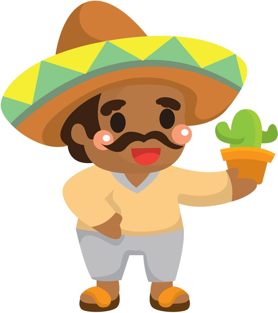 mexican backgrounds clip art - HD910×1024