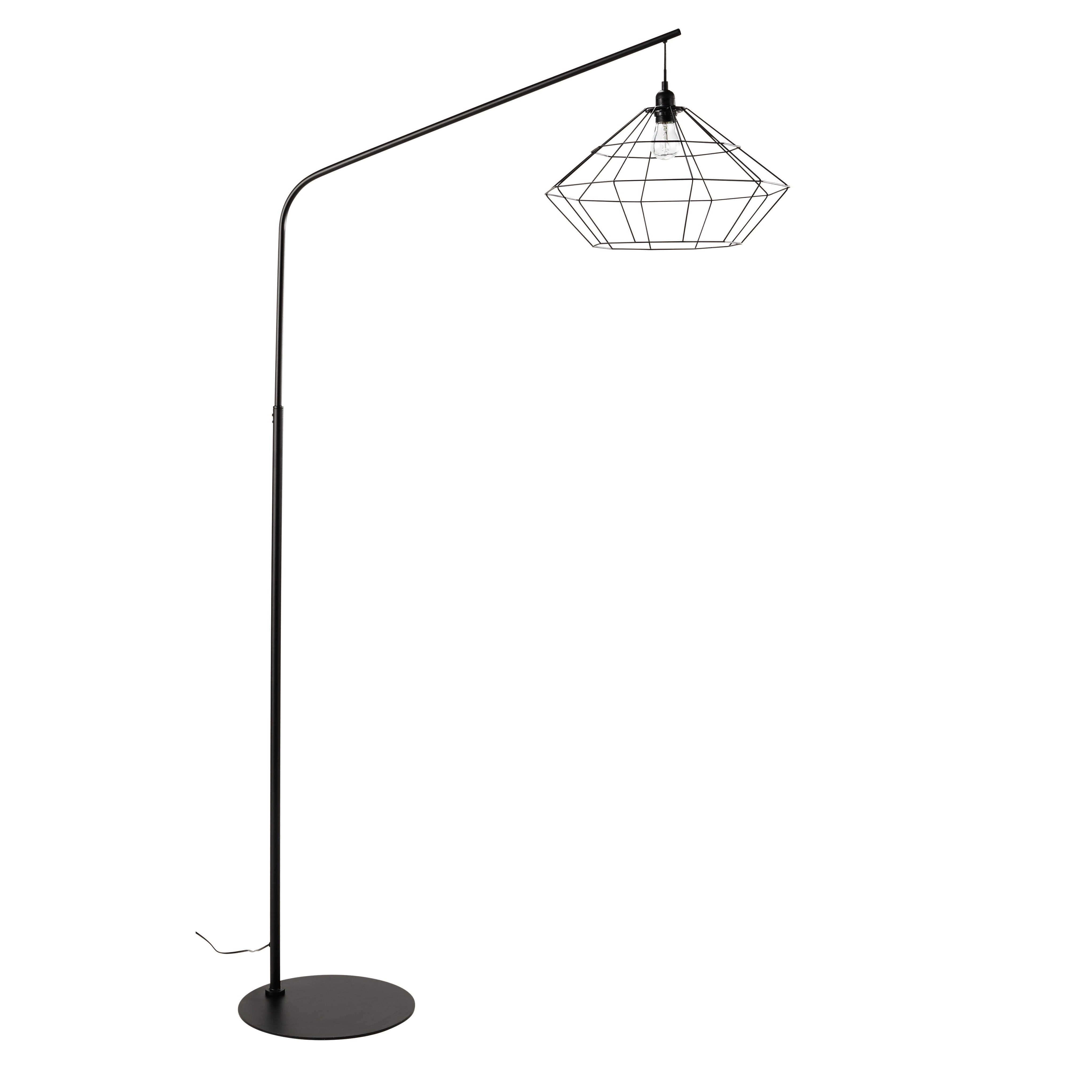 Stehlampen Und Leselampen Stehlampe Stehlampe Schwarz Bodenlampe