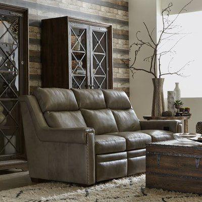 Bradington Young Imagine Leather Sofa Leather Reclining