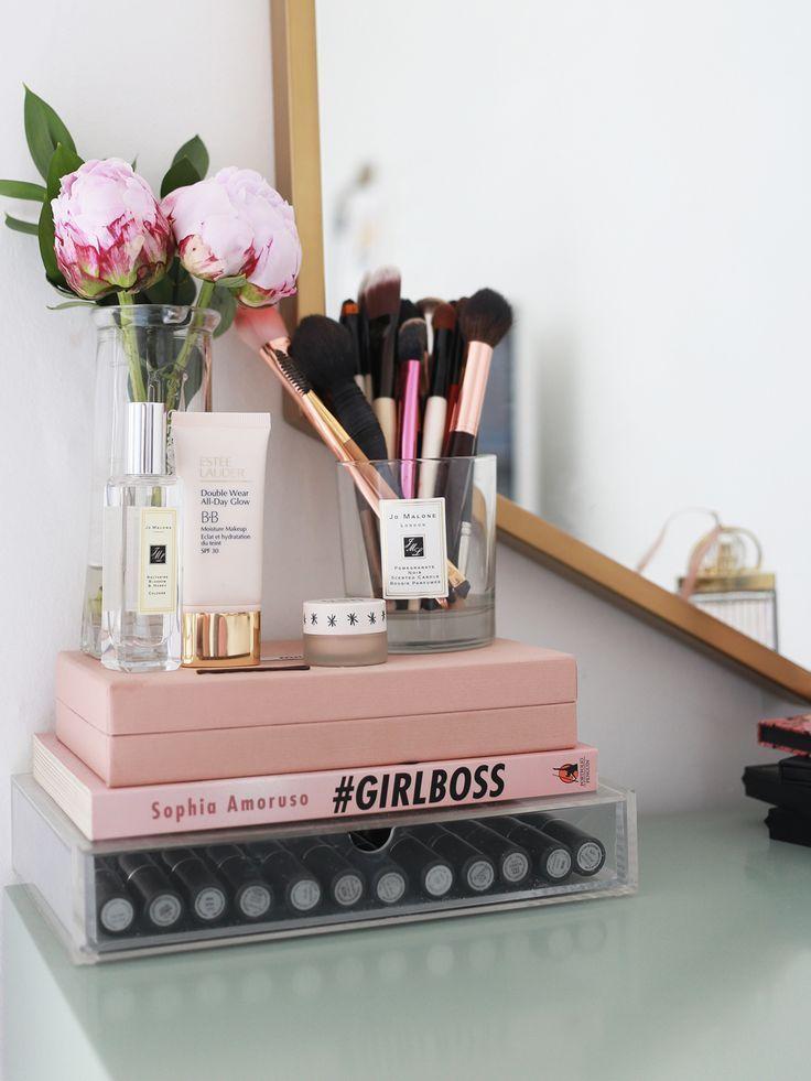 Nifty Cosmetic Organizing Carousel, Cream | Roooom | Pinterest ...