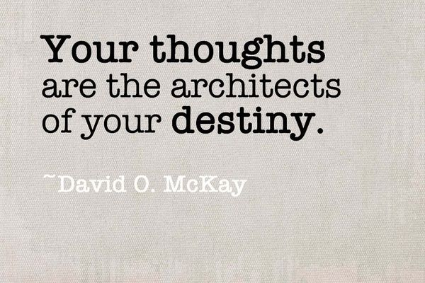 Self-disciplined begins with the mastery of your thoughts. If you don't control what you think, you can't control what you do.
