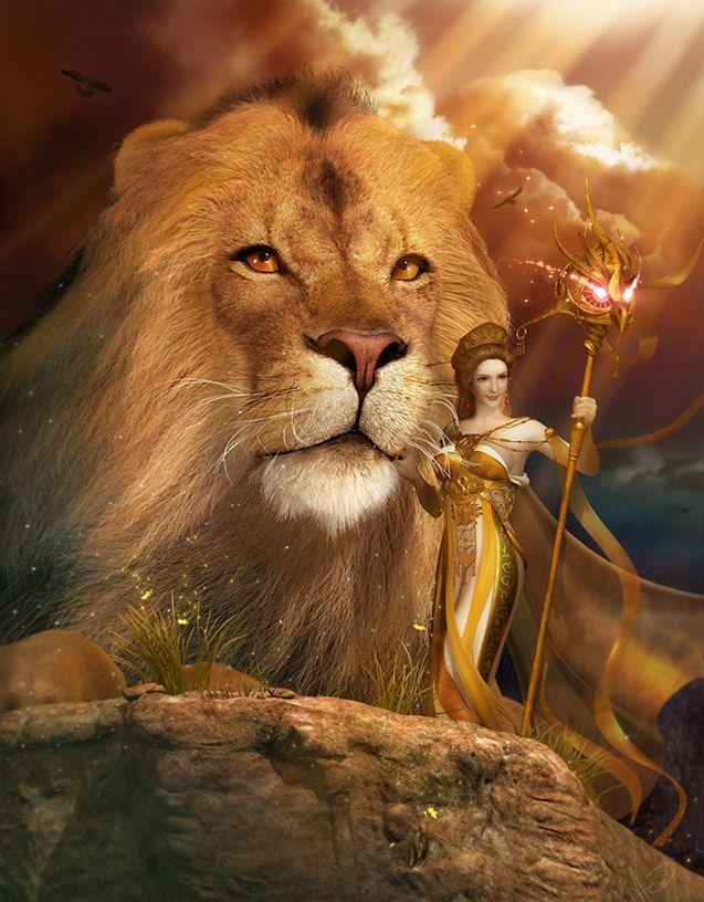 Игорь, открытки с львами