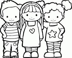 Resultado De Imagem Para Friend Coloring Pages Criancas