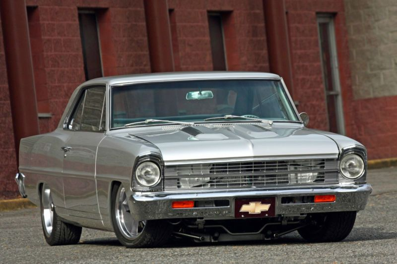 67 Chevy Nova Pro Touring Chevrolet Nova Classic Cars Hot Rods Cars Muscle