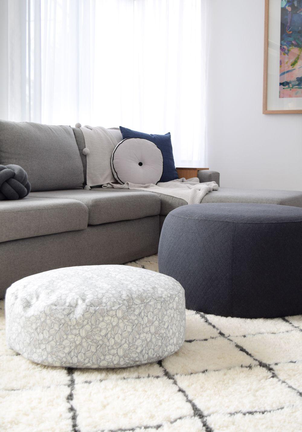 Kmart hack kids cushion turns luxe floor cushion Style