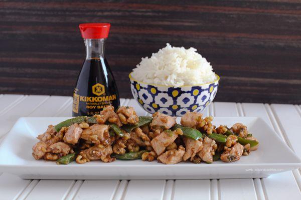 Walnut Chicken | picsandpastries #asian #stirfry #chickenrecipes