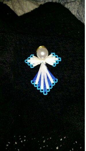 Plastic craft angel
