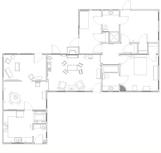 Marilyn 39 s brentwood home on pinterest marilyn monroe for Brentwood floor plan