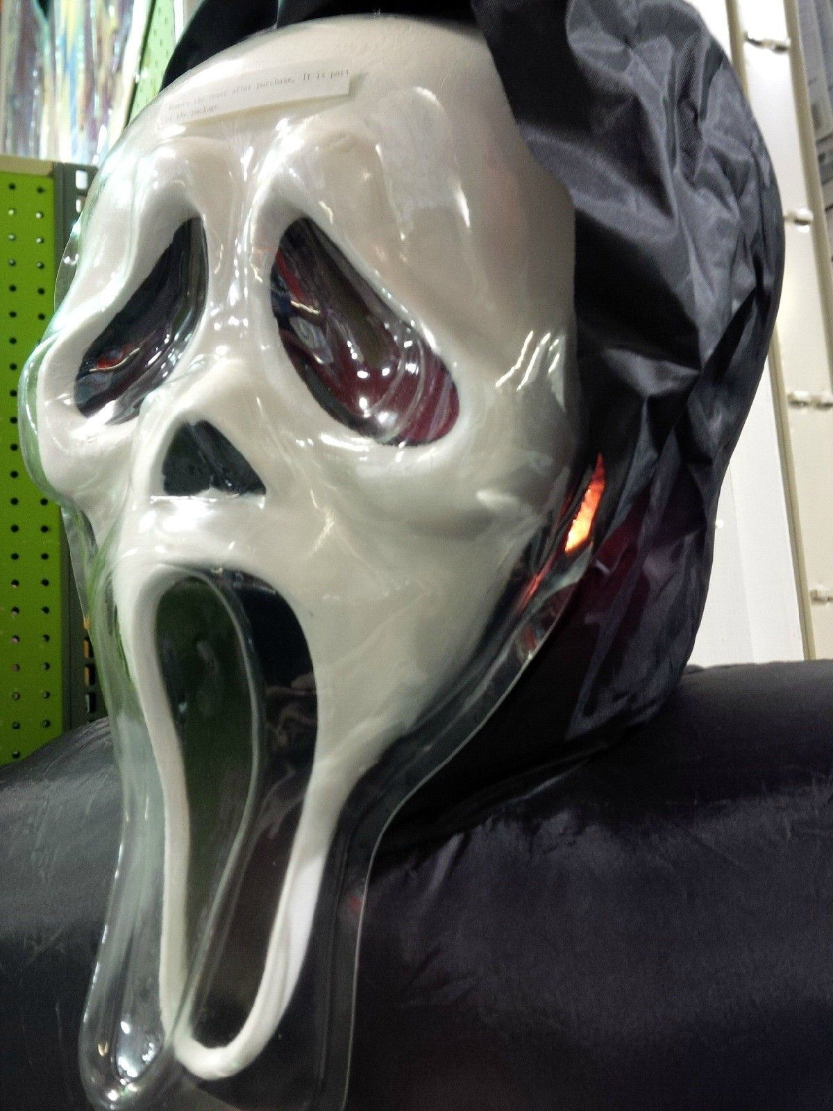 scream movie ghost face halloween inflatable 6 ft gemmy airblown ebay - Halloween Movie History