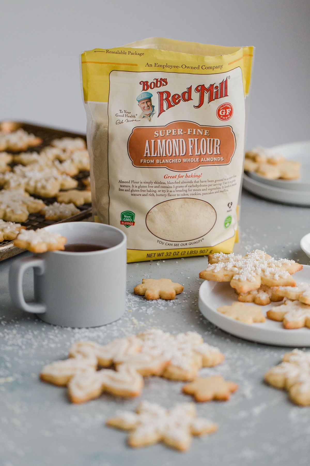 How to make sugar cookies with almond flour