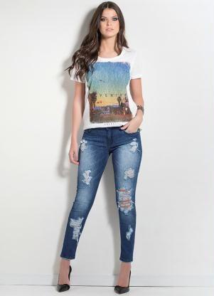 d37a1c033 Calça Jeans Colcci Destroyed - Posthaus | We love jeans. em 2019 ...